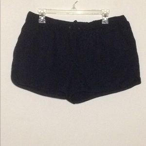 J Crew Elastic Band Tie Pull On Shorts W Pockets